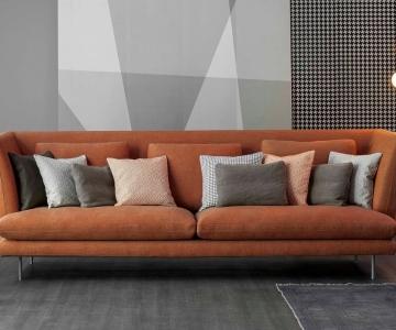 Sofa Vải Chân Sắt Sơn Tĩnh Điện