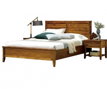 Giường Ngủ Gỗ Tràm Tự Nhiên