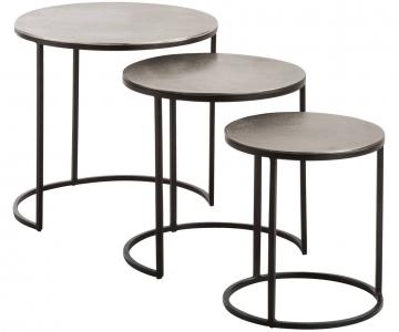 Bộ bàn trà 3 tầng decor