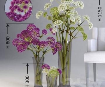 Chia sẻ thư viện 3dmax sofa và hoa đẹp
